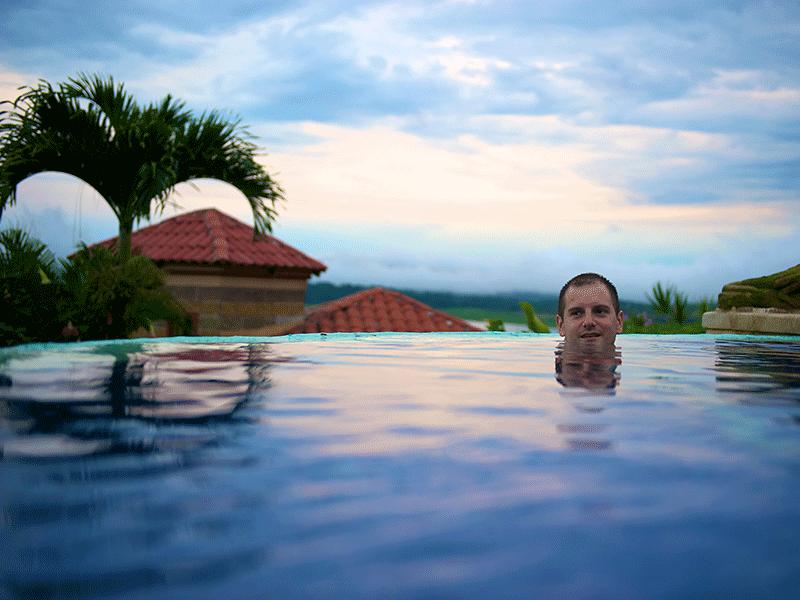 In Costa Rica das Leben geniessen