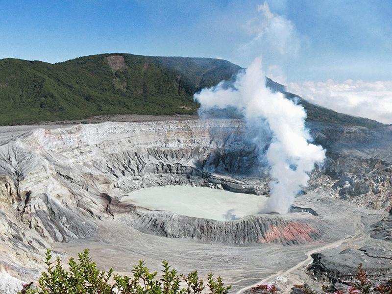 Aktive Vulkane in Costa Rica