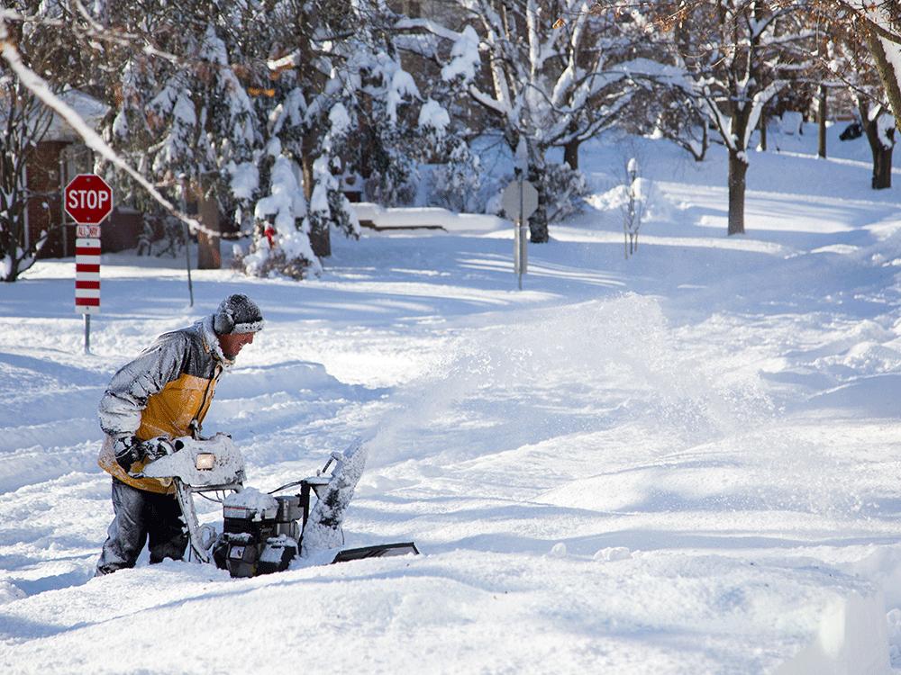 Winterzeit in Kanada